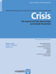 Copertina di Crisis. The Journal of Crisis Intervention and Suicide Prevention
