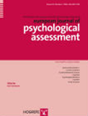 Copertina di European Journal of Psychological Assessment