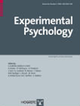 Copertina di Experimental Psychology