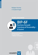 Copertina di BIP-6F - Business-focused Inventory of Personality - 6 Factors