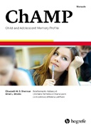 Copertina di ChAMP - Child and Adolescent Memory Profile